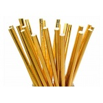 gold-paper-straws